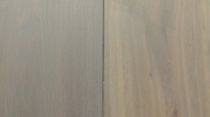 European Oak wood -BC- Smoke dark Grey 26cm wide flooring boards