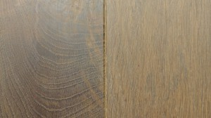 European Oak wood flooring -BC- Carbonized Smoked White Top Coat 18cm wide