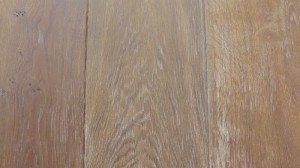 European Oak wood flooring boards -BC- Dark Smoke brush White 18cm wide