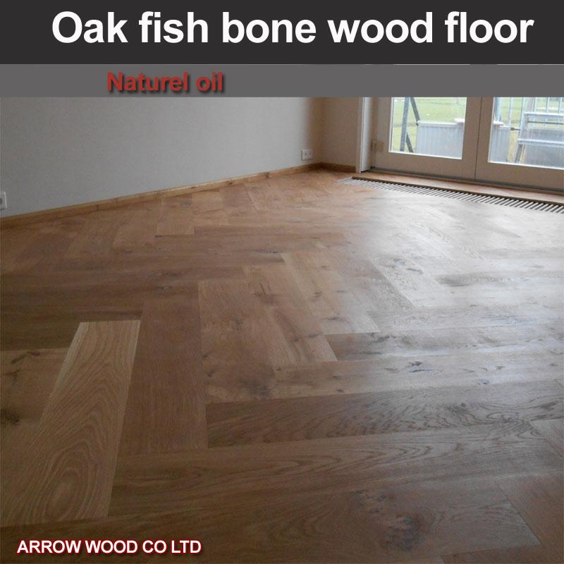 Fish Bone Oak Parquet Floor