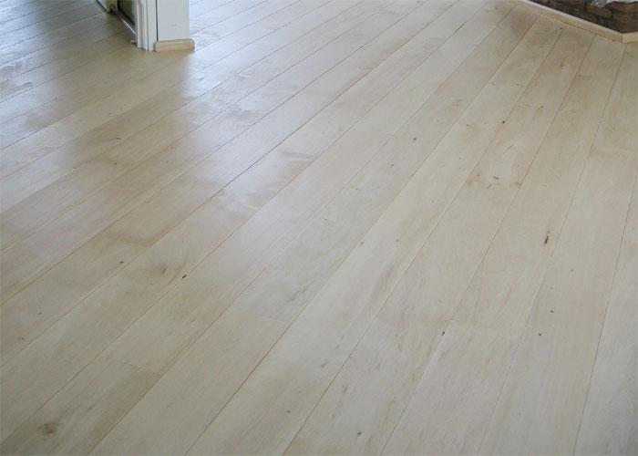 Ivory beech engineered hardwood flooring