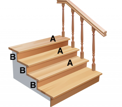 wooden-stair-steps-setup