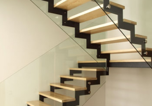 solid wooden stair steps - Wooden Stairs